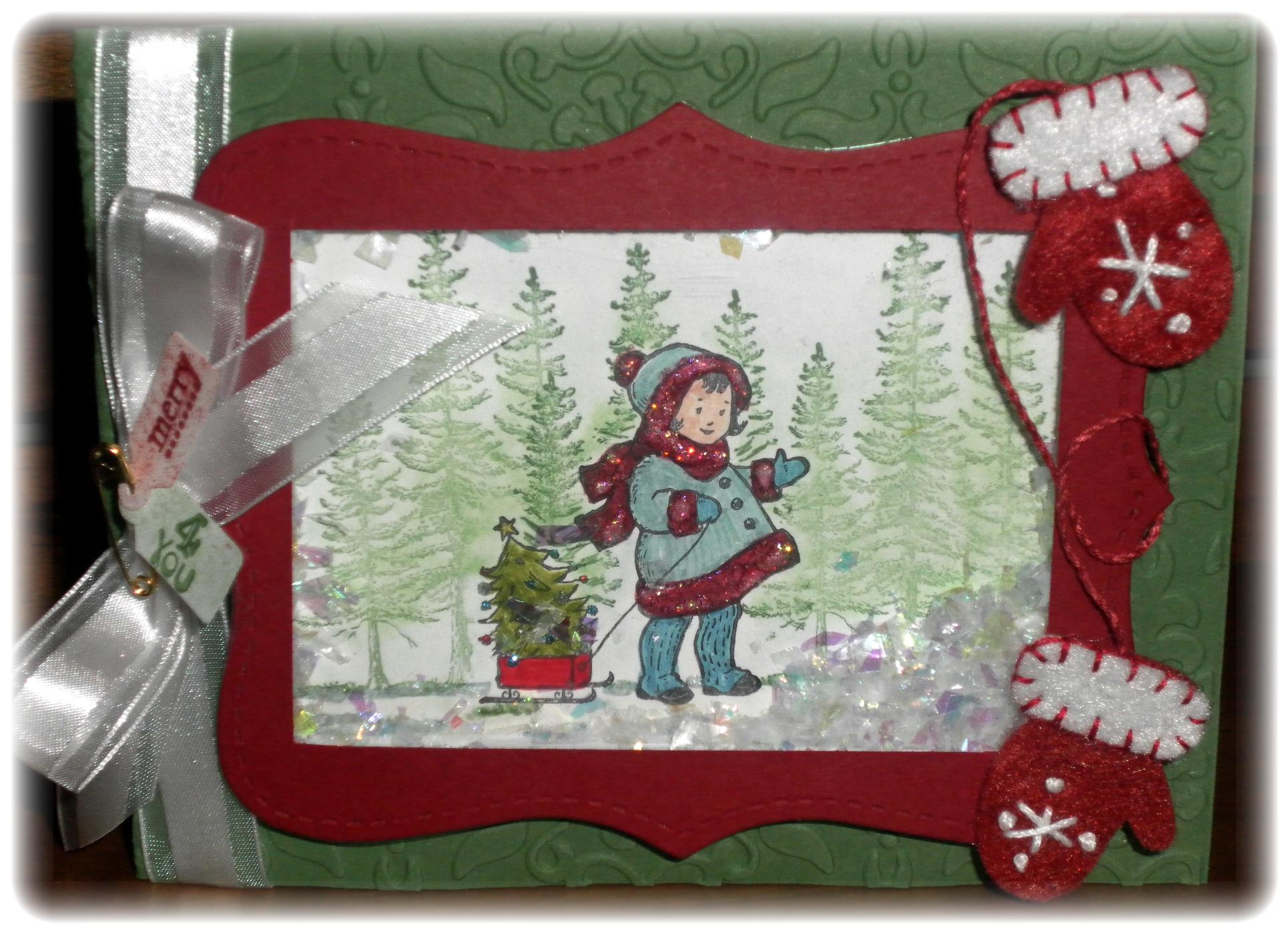 Greeting card kids winter card stampamazing greeting card kids winter card kristyandbryce Choice Image